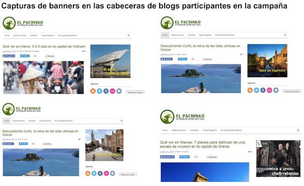 Ejemplo Información Adicional Captura Banners Campaña Travel Inspirers